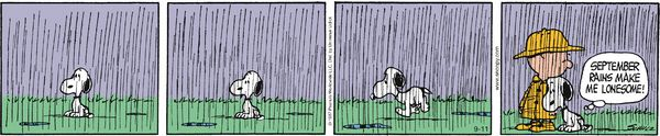 Peanuts Comic Strip for Sep/11/2014 on GoComics.com