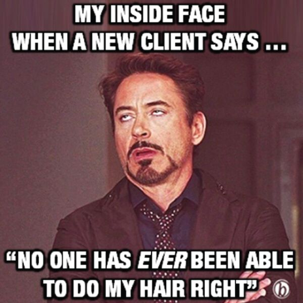 Hair salon humor .. Please!!?!?!!