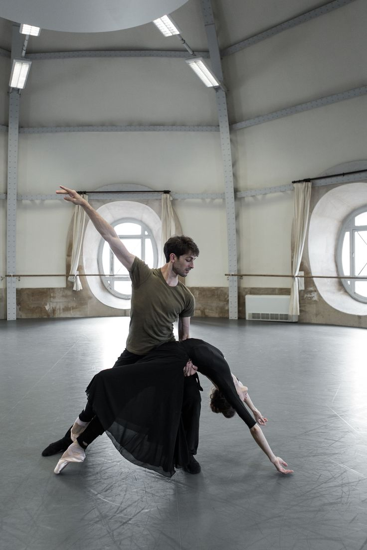 Tristan und Isolde by Giorgio Mancini - New creation - Work in progress with Dorothée Gilbert and Mathieu Ganio - Danseurs étoiles Opéra de Paris - Picture: James Bort