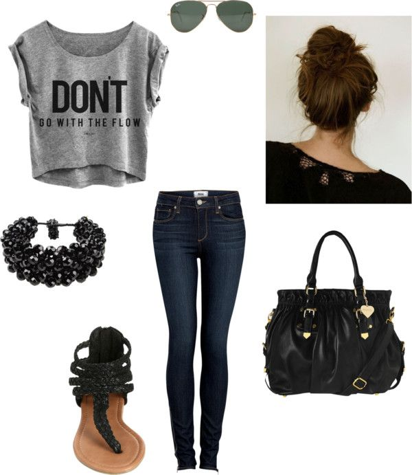 """""""Back to School Outfit 1"""" by kaileyanncarter on Polyvore"""