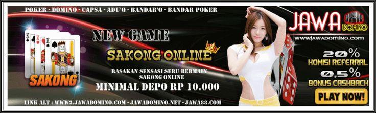 Daftar sekarang Juga ... JAWADOMINO.NET           AGEN POKER DOMINO ONLINE TERPERCAYA INDONESIA  Hot promo dari jawadomino - Bonus Referal 20% (dengan cara mereferensikan teman) - Bonus Turn Over 0.5 % (dibagikan setiap hari) Jangan ngaku jago main POKER kalau belum coba main di sini ya guys... Segera daftar kan diri anda di www.jawadomino.net           Permainan game poker online dengan minimal deposit 10 ribu dan tarik dana 30 ribu  Tersedia 7 game dengan 1 user  - Poker - Domino 99…