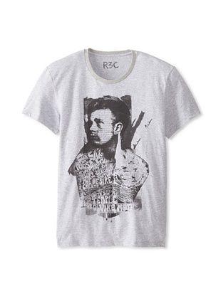 55% OFF R3C by Reception (LAB) Men's James Dean Short Sleeve Graphic T-Shirt (Asphalt)