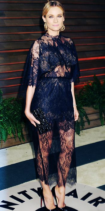 Look of the Day - March 3, 2014 - Diane Kruger in Valentino Couture #InStyle