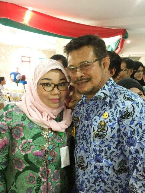 Gub sulsel, Bpk SYL di Kampus UIT Makassar