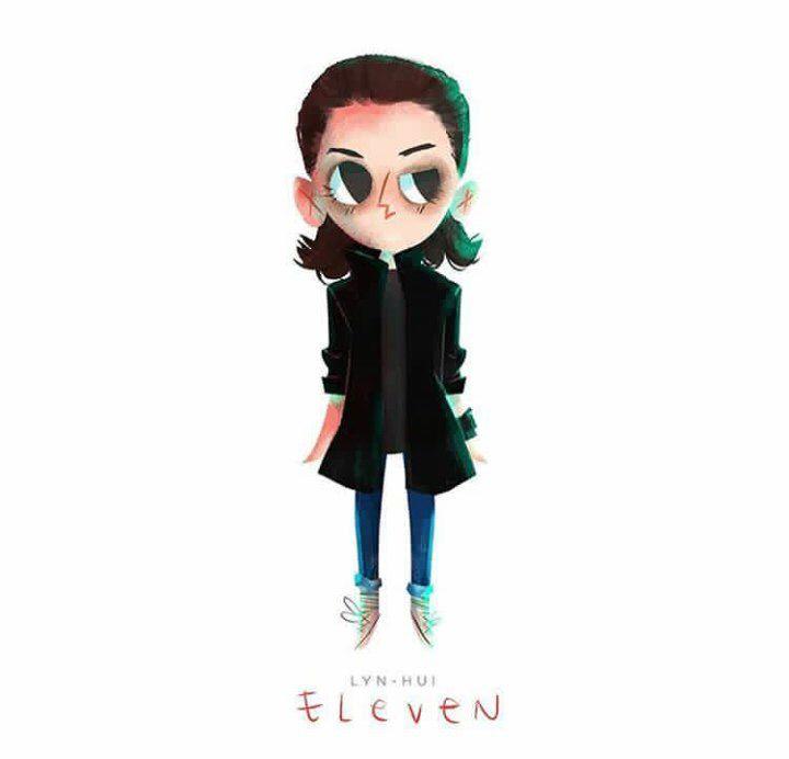 Stranger Things 2 Eleven