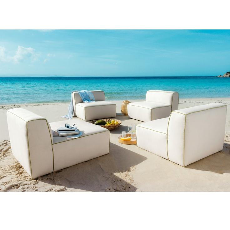 chauffeuse et pouf en mode int rieur ext rieur. Black Bedroom Furniture Sets. Home Design Ideas