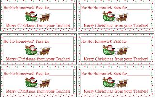"""FREE LESSON - """"Free Holiday Homework Passes"""" - Go to The Best of Teacher Entrepreneurs for this and hundreds of free lessons.  #FreeLesson   #TeachersPayTeachers   #TPT   #Christmas  http://www.thebestofteacherentrepreneurs.net/2013/12/free-misc-lesson-free-holiday-homework.html"""
