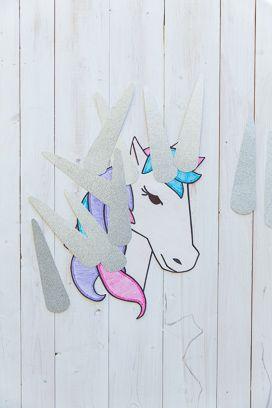 We Heart Parties: Sparkly Rainbow Unicorn Birthday Party