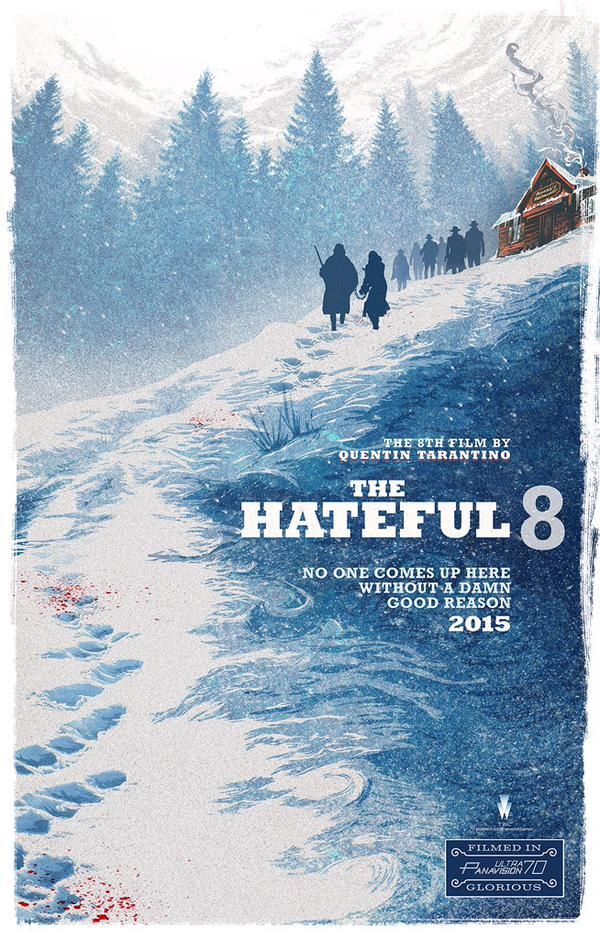 A new poster for Quentin Tarantino's The Hateful Eight.