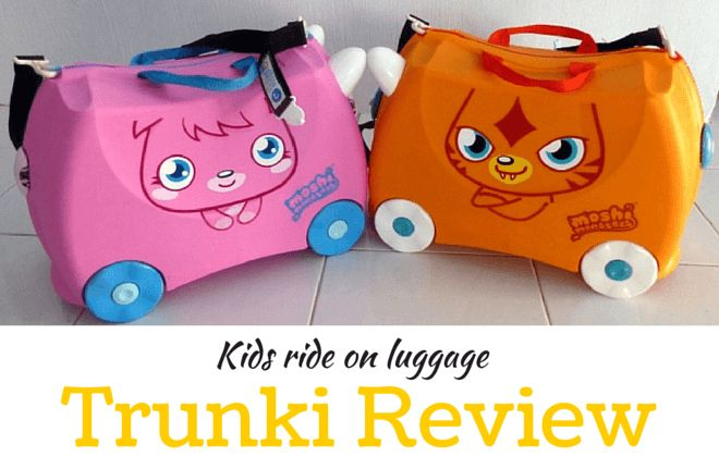 Our Trunki reviews - The best kids ride on suitcase!