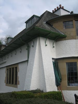 Broad Leys The House Is Externally Typical Voysey With Rough Cast Walls Arts And Crafts