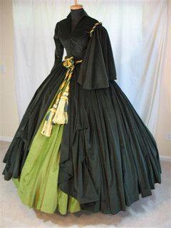 Scarlett OHara Drapery / Curtain Dress by scarlett283, via Flickr