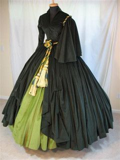 Scarlett OHara Drapery / Curtain Dress by scarlett283, via Flickr