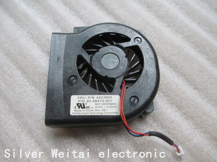CPU Laptop Cooler Cooling Fan for IBM Lenovo ThinkPad X61 X60 P/N: 42X3805 MCF-W03PAM05 5V 315MA 60.4B413.001