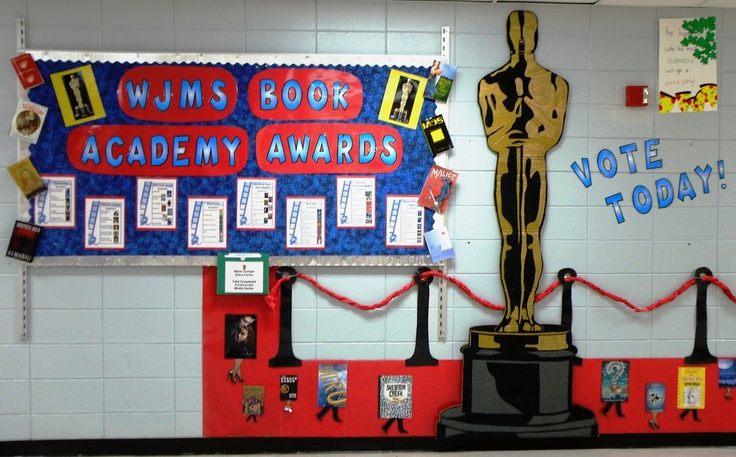 Library Displays Book Academy Awards Hollywood
