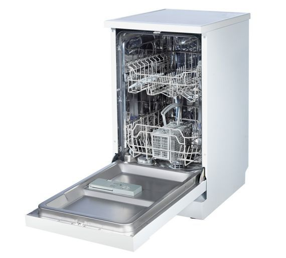 Buy Proaction PRSLG96W Slimline Dishwasher - White at Argos.co.uk, visit Argos.co.uk to shop online for Dishwashers, Large kitchen appliances, Home and garden
