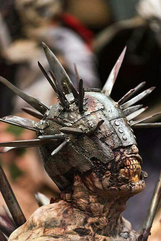 """Winslow the """"Spiked Walker"""" and pet of Jadis, leader of the Scavengers. 