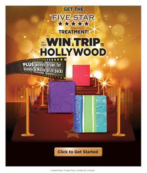 Acco Brands Five Star Treatment Contest Web Site