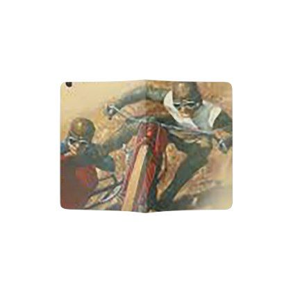 #Vintage Motorcycle Flat Track Advert Passport Holder - #Xmas #ChristmasEve Christmas Eve #Christmas #merry #xmas #family #holy #kids #gifts #holidays #Santa