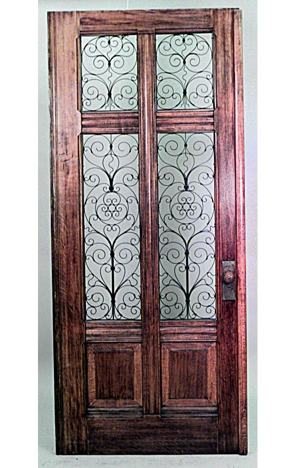 Italian Renaissance Architectural Element Doors Oak