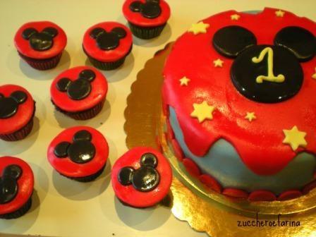 Torta mickey mouse 1 anno