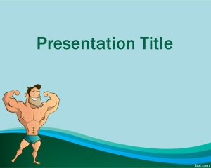 Muscle Training Powerpoint Template Is A Free Bodybuilding