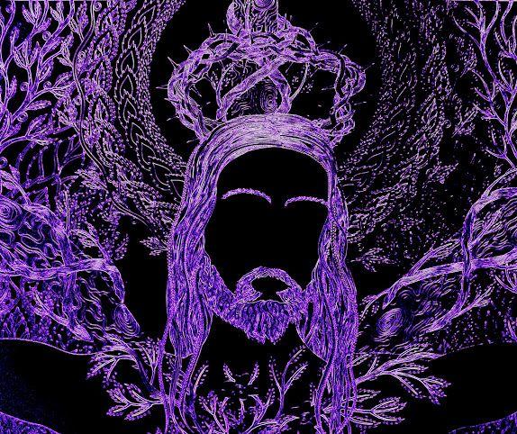 Jesus 2016, autorská perokresba 11/12/2016, Detail obrazu, upraveno,Johana Hájková cz.pinterest.com/... https://cz.pinterest.com/johanahajkova/johana/