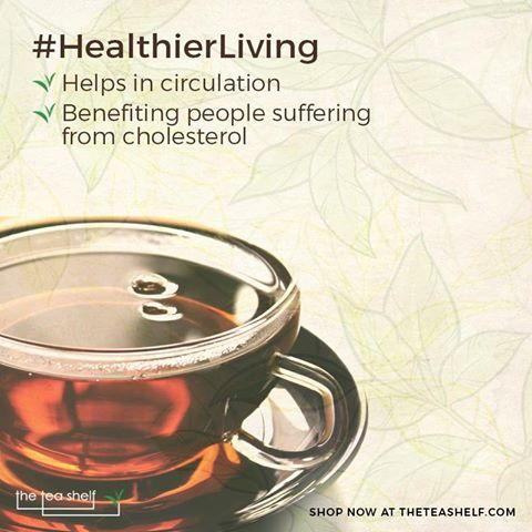 Black tea has very little caffeine content compared to coffee and helps drastically in bodily circulations. Regular consumption of black tea is also tied with benefiting people suffering from diabetes and cholesterol.