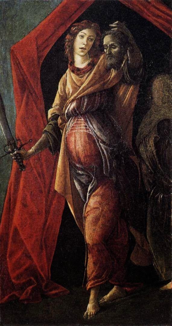 Η Ιουδήθ φεύγοντας από τη σκηνή του Ολοφέρνη (1495~1500)