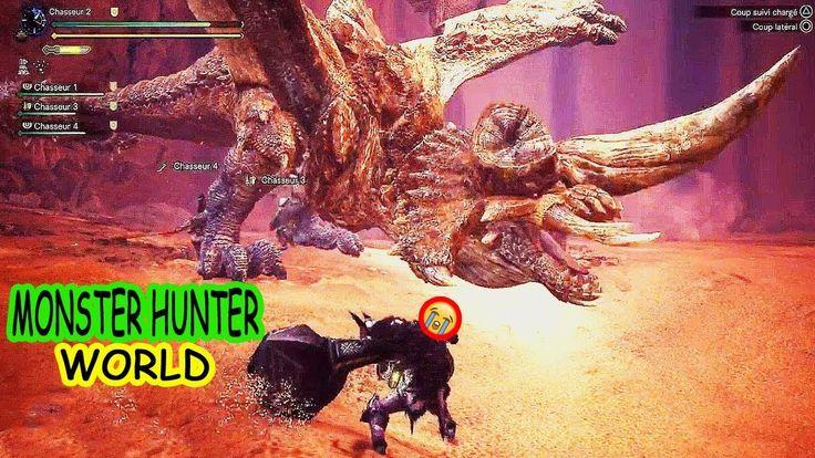✅MONSTER HUNTER WORLD : New Gameplay - DIALBLOS Boss Fight (PC/PS4/XBOX)