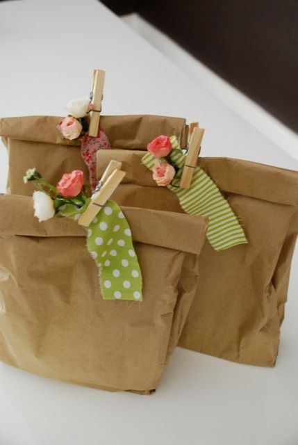 Simple gift wrap.