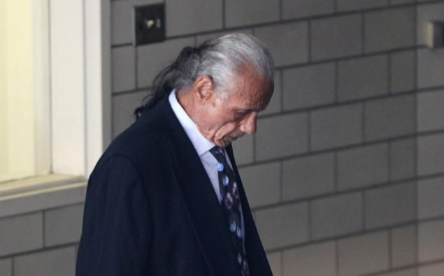"Wrestling legend Jimmy ""Superfly"" Snuka, 72, charged in the 1983 death of his girlfriend Nancy Argentino, appears Wednesday for a hearing at Lehigh County Courthouse in Allentown."