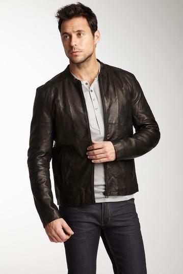 7 best Men's Essentials: The Leather Jacket images on Pinterest ...