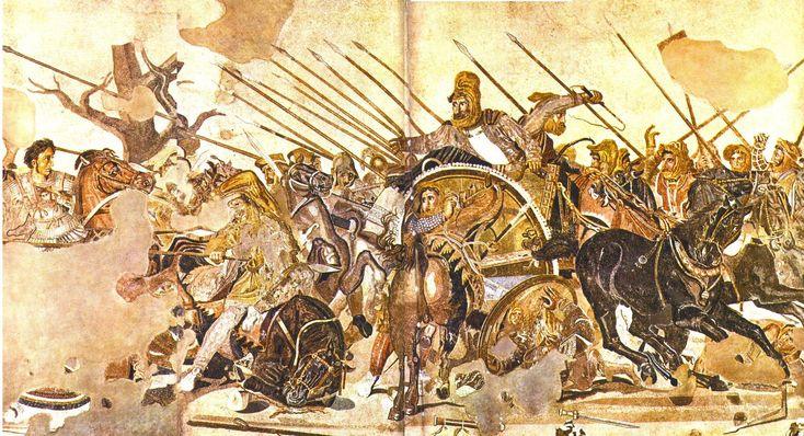 ancient art.. battle of issos