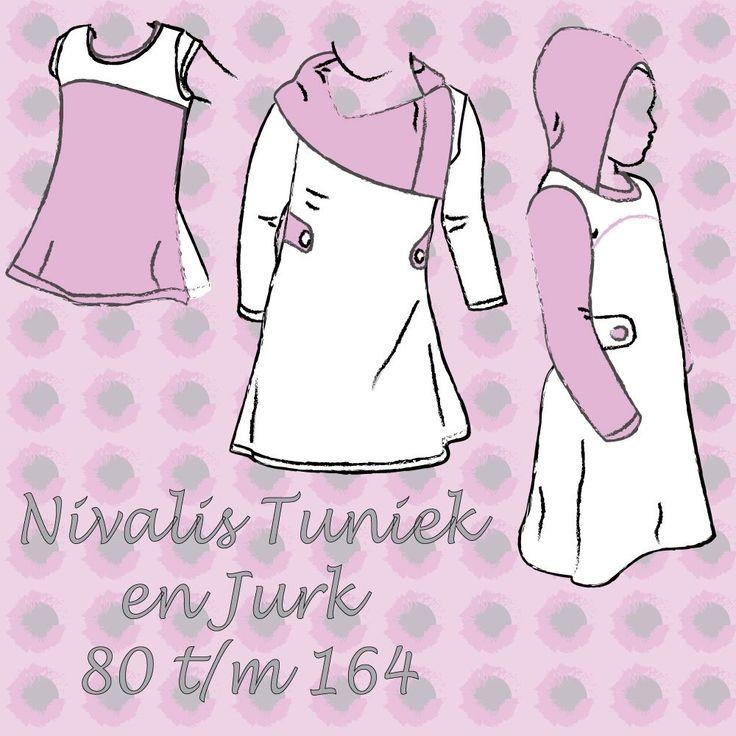 Nivalis Tuniek en Jurk pdf patroon NL – Sofilantjes Patterns