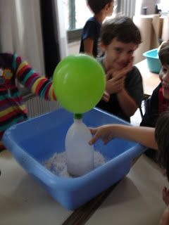 Πειράματα Φυσικής με Απλά Υλικά  Science Experiments for Kids: Το μπαλόνι που φουσκώνει μόνο του!