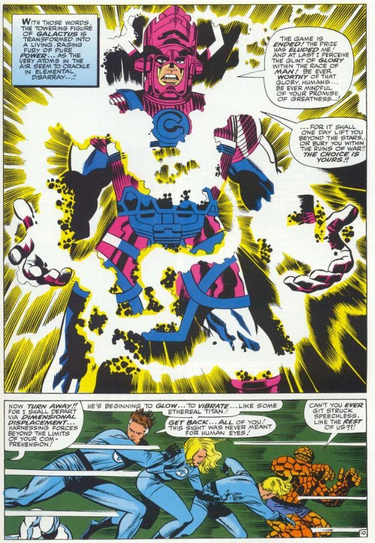 Le tavole di Kirby sono come il vino, invecchiando migliorano. (Fantastic Four 50)