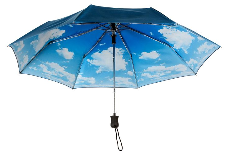 This is fun and at a great price!  You can buy a plain one for this price in the store. Auto Open Umbrella, Nimbus | April Showers | One Kings Lane