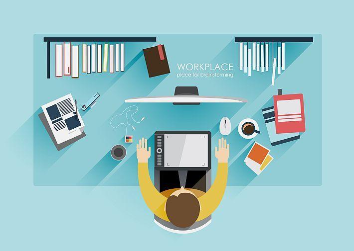 10 conseils pour organiser sa journée de #freelance  /  #télétravail #coworking