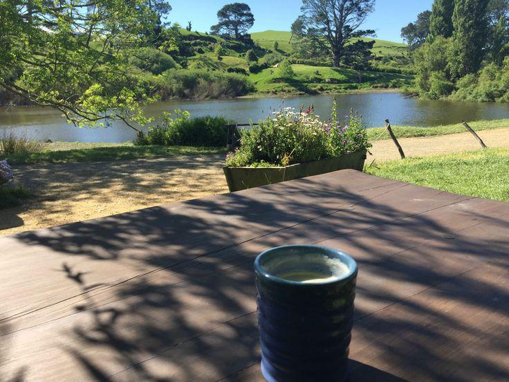 Southfarthing Amber Ale in Hobbiton, New Zealand