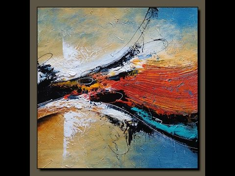 Acrylic Abstract Painting Make Your Own Art