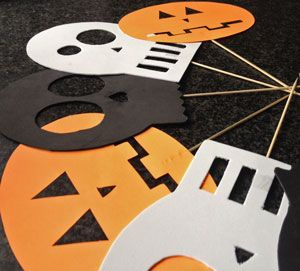 Knutsel: halloween masker