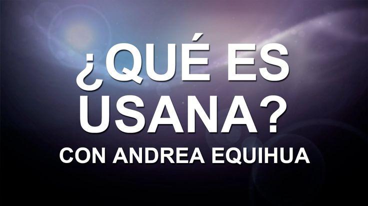 Andrea Equihua de USANA: El camino hacia la salud y la libertad financie...