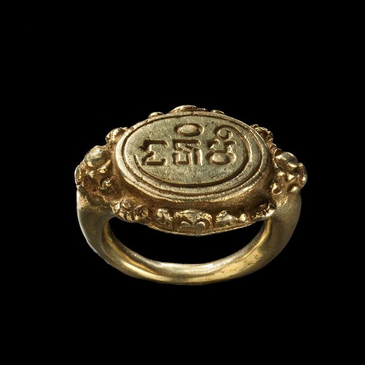 Ring with Inscription East Java Gold