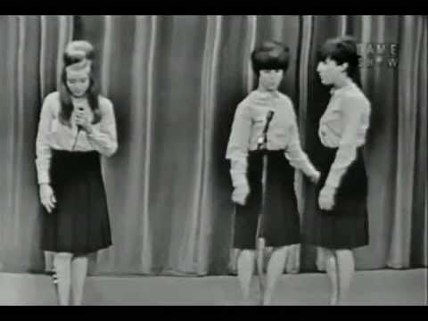 "Shangri-Las - Leader Of The Pack - 1964 > Uploaded  The game show ""I've Got A Secret"" featured the Shangri-Las (w/Robert Goulet.) at the time when ""Leader of the Pack"" was the number one record in the USA. Previously the panelists spoke/performed the lyrics as if they were soap opera dialog, then they had to guess where the words were from. Nobody knew."