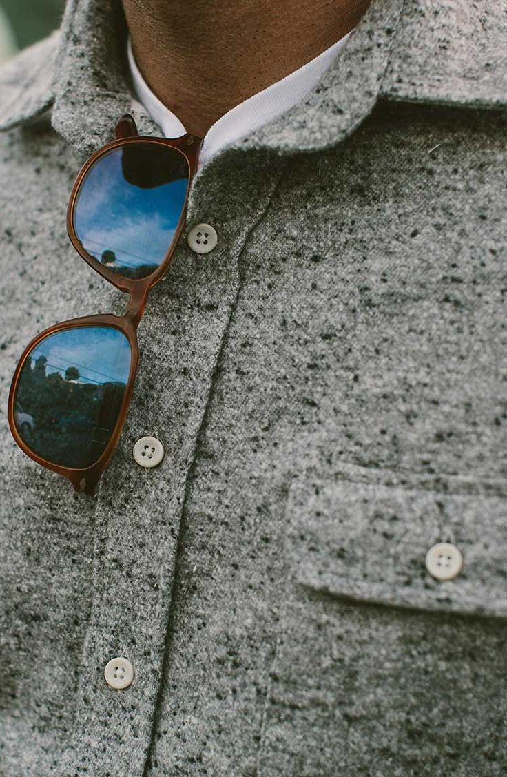 The Sundown Shirt in Grey | Taylor Stitch