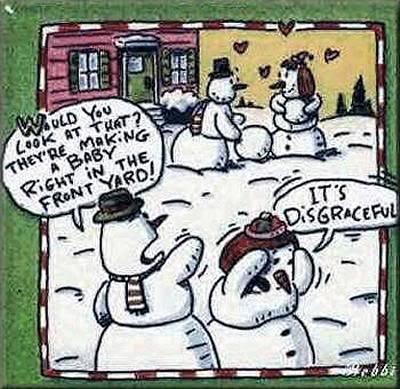 snowman jokes