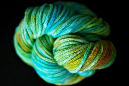 Crock pot kool aid yarn!
