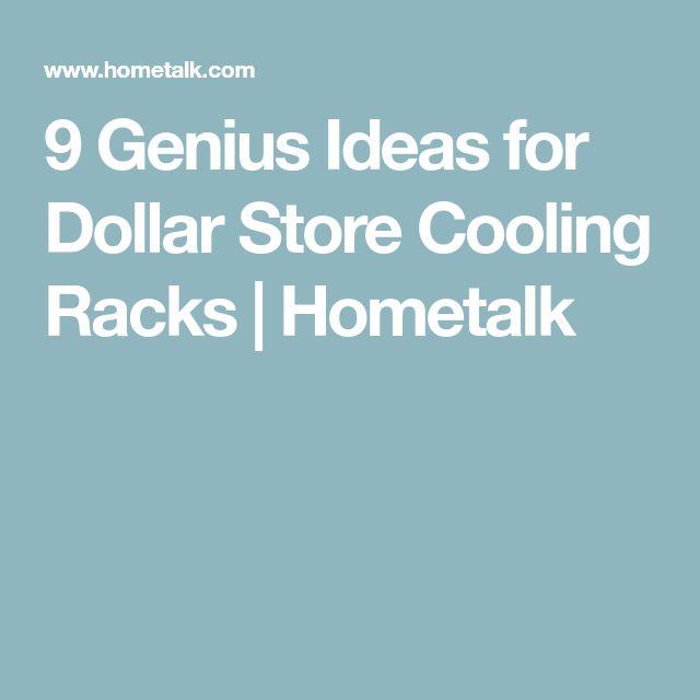 9 Genius Ideas for Dollar Store Cooling Racks | Hometalk