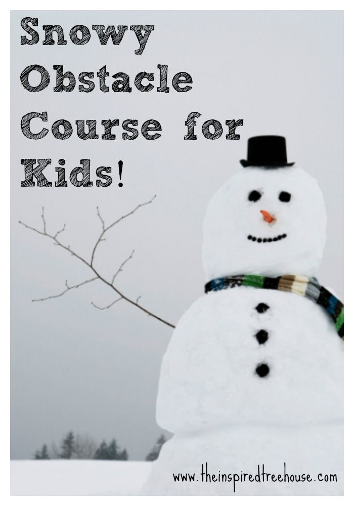 Challenge a variety of motor skills all at once than a good old fashioned obstacle course that is done outside!!